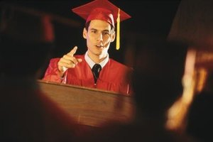 Deliver an effective graduation speech by creating a strong opening.