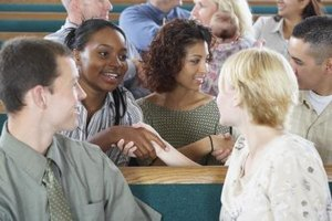 Providing a church roster to members will encourage contact among the congregation.