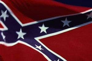 The Confederate flag is representative of the original Confederate States of America.