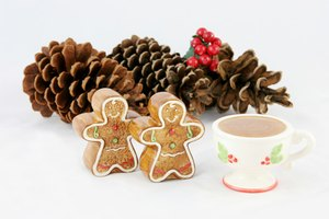 Ginger cookies make an appearance at Christmas gloggfests.