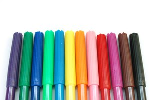 Making your own markers emphasizes your artistic creations.