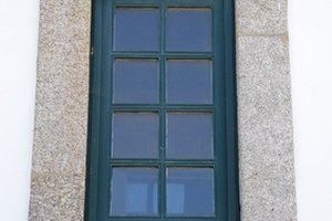 Lexan is often used for windows.
