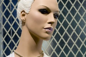 Mannequins are created as life-like structures to model clothes and accessories.