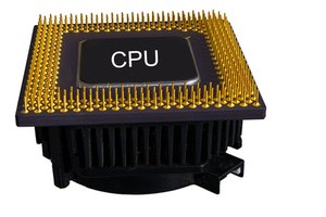 Running programs require various amounts of CPU usage.