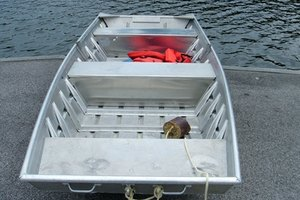 Aluminum boats lend themselves well to brazen rod repair.