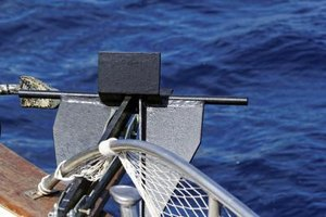 Proper anchor tackle is a combination of line, chain, and hook and they all depend on the size of the boat.