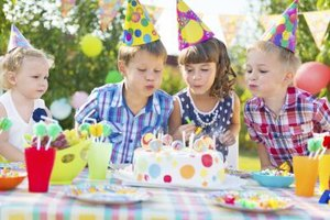 A child's birthday party can be loads of fun even without gifts.
