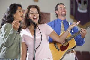Starting a gospel group begins by assessing the talents of potential members.