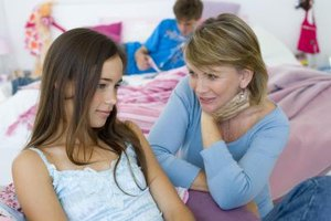 Teach your teen girl to express her feelings more skillfully instead of mouthing off.