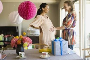 Technology can aid the hosting of a baby shower.
