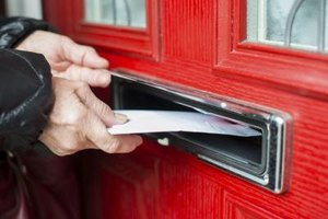 send a letter via registered mail to track its delivery
