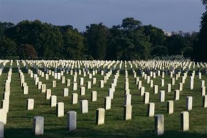 Deceased service members buried at Arlington National Cemetery receive full military honors.