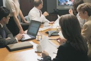 Large screens make video calls more effective.