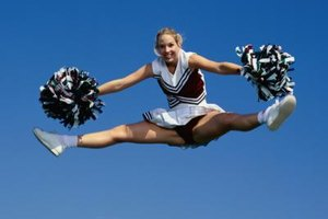 Tumbling or Cheerleading Science Fair Projects