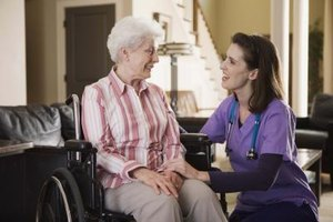 Older people can confide in their physician.