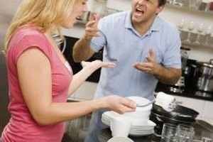 Patience and sensitivity are key to managing an angry husband.