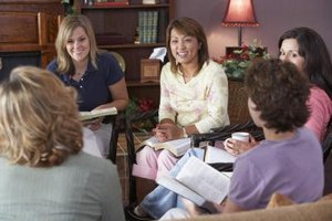 Many growing churches use home-based cell groups.