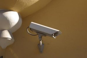 Surveillance cameras can help protect your home and family.