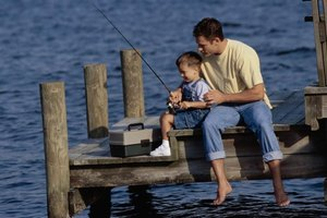 Get your kids enthused about fishing with a personalized tackle box.
