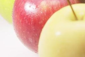Most apple varieties are not genetically engineered.