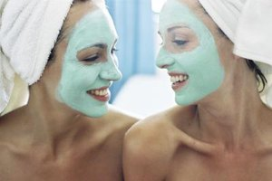 Help your sister feel a little more confident and relaxed with facials and massages.