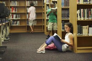 Middle School Library Ideas