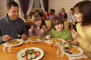 Both parents and kids can be entertained at many restaurants