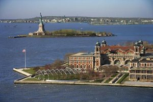 Millions of Italian immigrants came through Ellis Island.