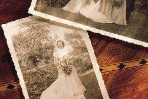 Include photos of landmark events such as a wedding day.