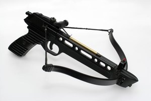 Some modern pistol-style crossbows are suitable for hunting.