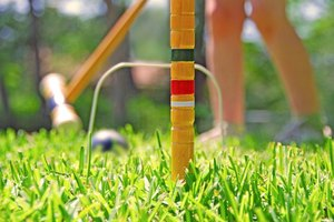 Garden croquet can be a surprisingly cutthroat backyard sport.