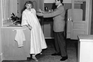"Scene stills from ""I Love Lucy"" are available from many vendors."
