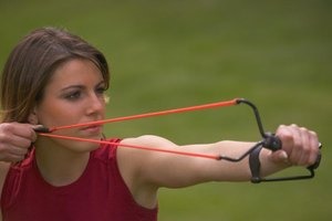 Some hunters prefer the challenge of hunting with a slingshot.
