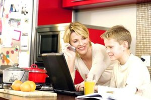 Your children can help create the family directory.