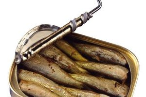 You can use the oil from sardine tins to make lure scent.