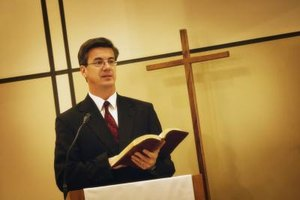 In many Protestant denominations, preaching is one of the pastor's main duties.
