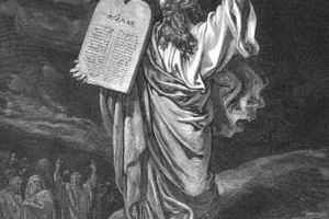 Yom Kippur remembers Moses return with the Ten Commandments.