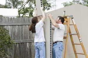 Habitat for Humanity houses are built by volunteer workers and the homeowner.