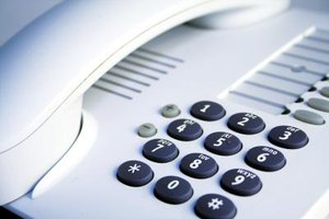 Each number on a phone's keypad corresponds to a group of letters.