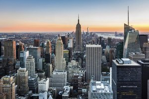 Image of the New York City skyline.
