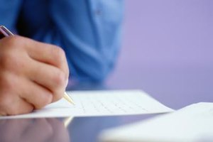 Whether your letter is hand-written or typed, make the words your own and avoid form letters.