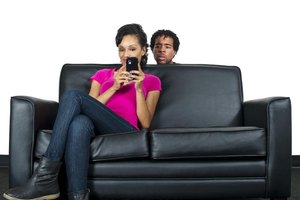 Your girlfriend's cell phone usage can tell you if she likes someone else.