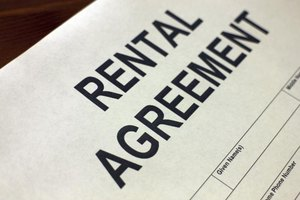 Rental application form.
