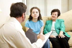 Family counseling session