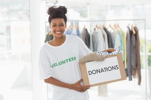 Volunteers and goods are examples of in-kind contributions.