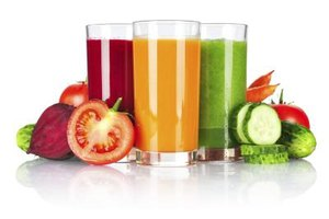 Make a green smoothie with whole fruits and vegetables.