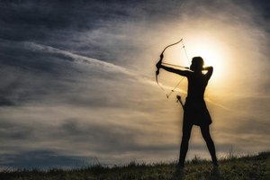 Most Native American tribes used the bow and arrow.