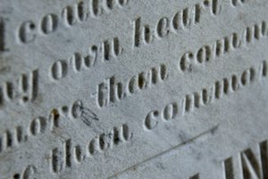 A Sandblasted Headstone vs. an Etched Headstone