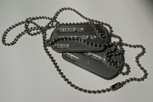 How to Locate Someone Using a Military Issued Dog Tag
