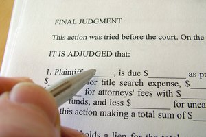 Prior to garnishing retirement pay, a creditor needs a court judgment.